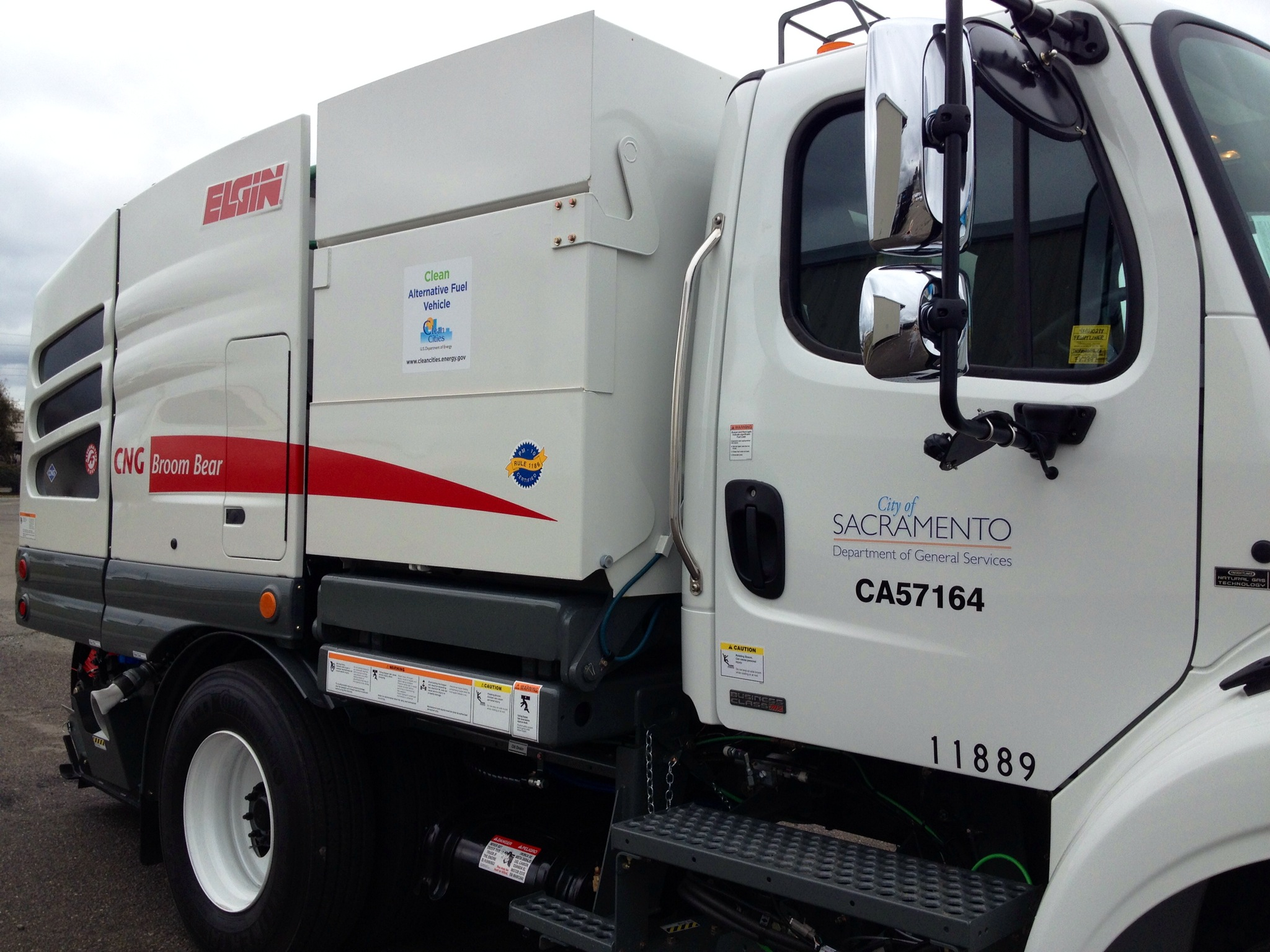 Street sweepers and city buses, to name a few, are discovering the value of fueling up on CNG.