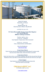 Click the photo to register. For more information and to receive an official invitation: lfuota@ucdavis.edu
