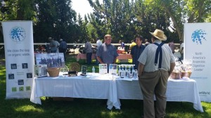 Our team talking with farmers about effluent on July 2.